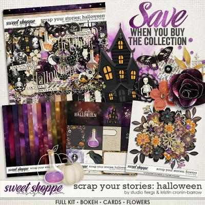 Scrap Your Stories: Halloween- BUNDLE by Studio Flergs & Kristin Cronin-Barrow