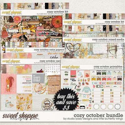 Cozy October Bundle by Studio Basic and Little Butterfly Wings