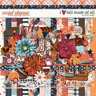 I Love Fall Most of All by Traci Reed
