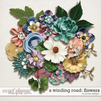 A Winding Road Flowers by JoCee Designs
