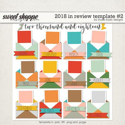 2018 In Review Template #2 by Studio Basic