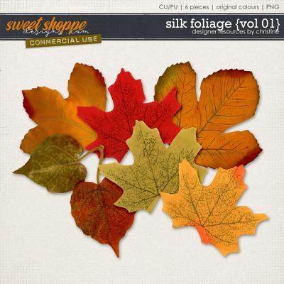 Silk Foliage {Vol 01} by Christine Mortimer