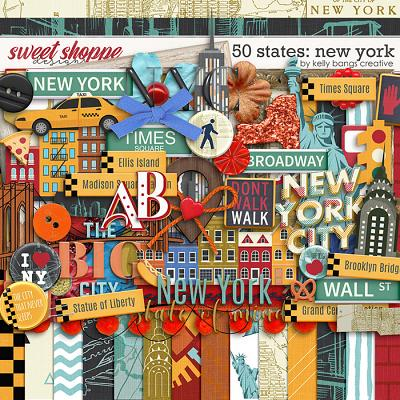 50 States: New York by Kelly Bangs Creative