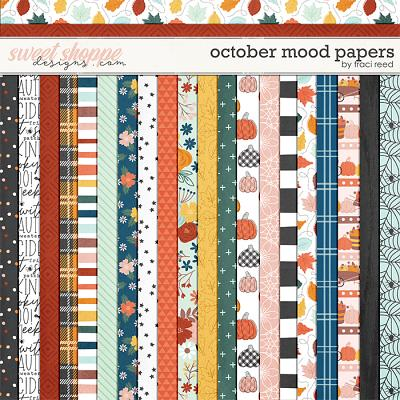 October Mood Papers by Traci Reed