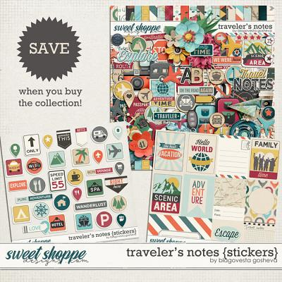 Traveler's Notes {bundle} by Blagovesta Gosheva