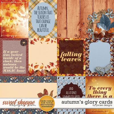 Autumns Glory Cards by JoCee Designs
