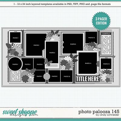 Cindy's Layered Templates - Photo Palooza 145 by Cindy Schneider