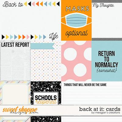 DigiScrap Parade September '21: Back At It Cards by Meagan's Creations