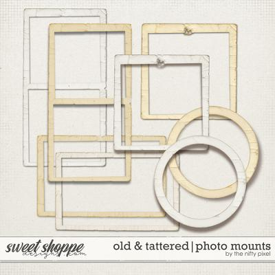OLD & TATTERED | PHOTO MOUNTS by The Nifty Pixel
