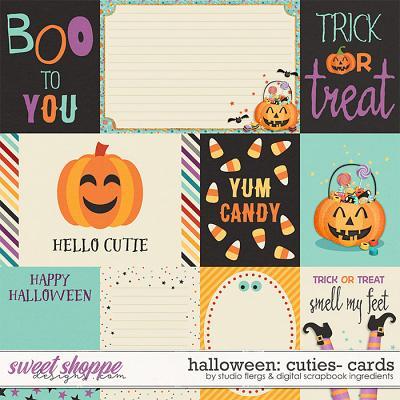 Halloween Cuties | Cards by Studio Flergs & Digital Scrapbook Ingredients