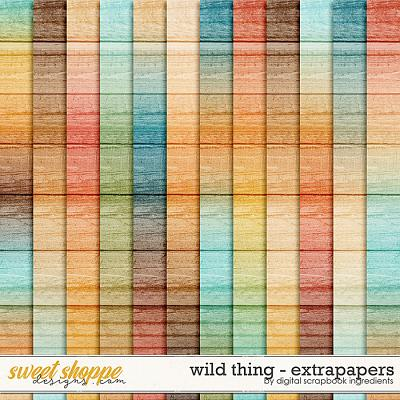 Wild Thing | Extra Papers by Digital Scrapbook Ingredients