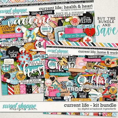 Current Life Kit Bundle by Digital Scrapbook Ingredients