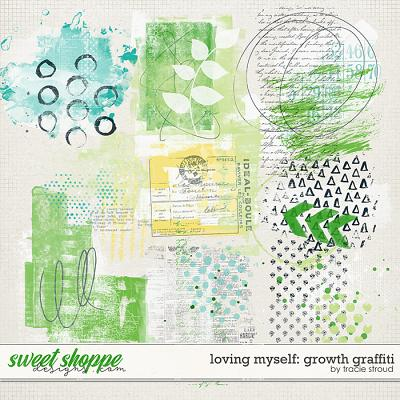 Loving Myself: Growth Graffiti by Tracie Stroud