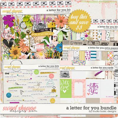 A Letter For You Bundle by Studio Basic