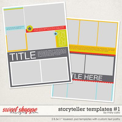 Storyteller Templates by Misty Cato
