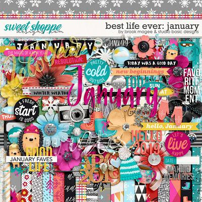 Best Life Ever: January Kit by Brook Magee and Studio Basic