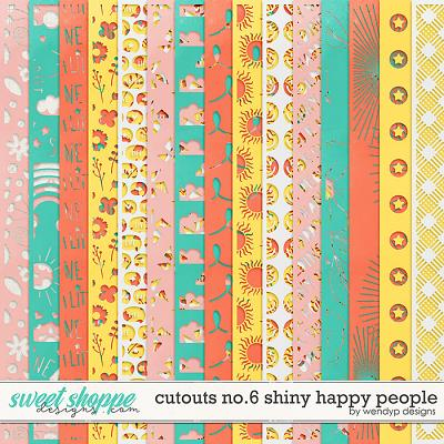 Cutouts no.6 - Shiny happy people by WendyP Designs