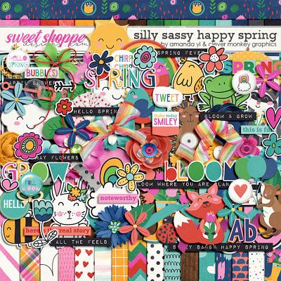 Silly Sassy Happy Spring by Clever Monkey Graphics & Amanda Yi