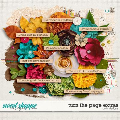 Turn The Page Extras by LJS Designs