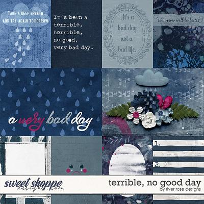 Terrible, No Good Day: Cards by River Rose Designs
