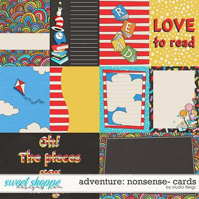 Adventure: Nonsense- CARDS by Studio Flergs
