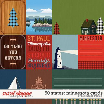50 States: Minnesota Cards by Kelly Bangs Creative