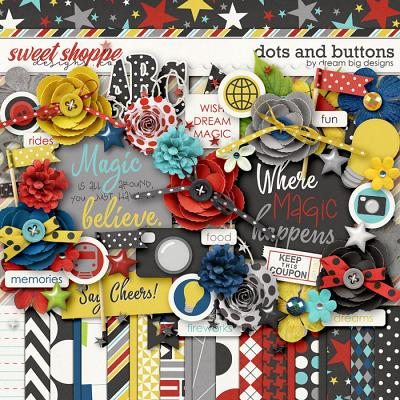 Dots and Buttons by Dream Big Designs