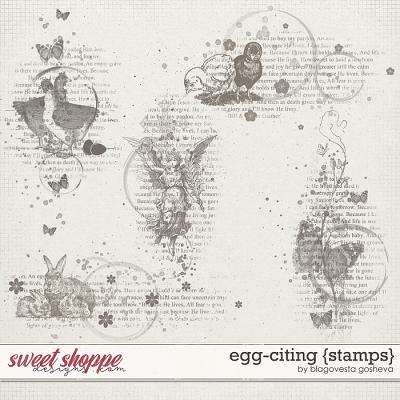 Egg-citing {Stamps} by Blagovesta Gosheva