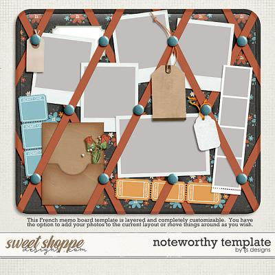 Noteworthy Template by LJS Designs