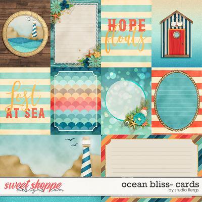 Ocean Bliss: CARDS by Studio Flergs