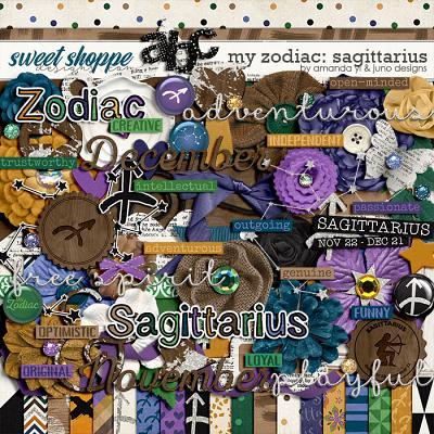 My Zodiac - Sagittarius by Amanda Yi & Juno Designs
