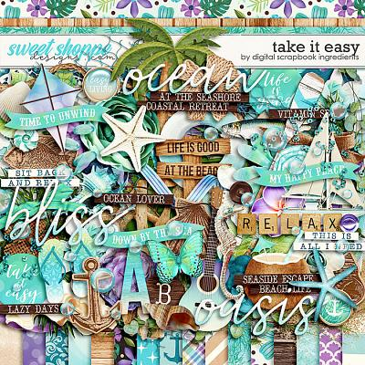 Take It Easy by Digital Scrapbook Ingredients