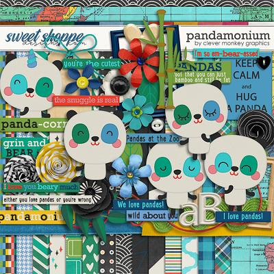 Pandamonium by Clever Monkey Graphics