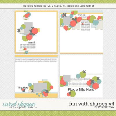 Fun With Shapes V.4 by Crystal Livesay