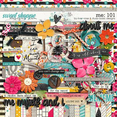 Me: 101 Kit by River~Rose and Studio Basic