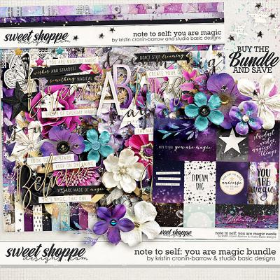 Note To Self: You Are Magic Bundle by Kristin Cronin-Barrow & Studio Basic