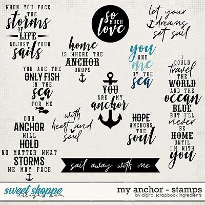 My Anchor | Stamps by Digital Scrapbook Ingredients