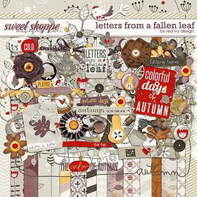 Letters From a Fallen Leaf by Red Ivy Design