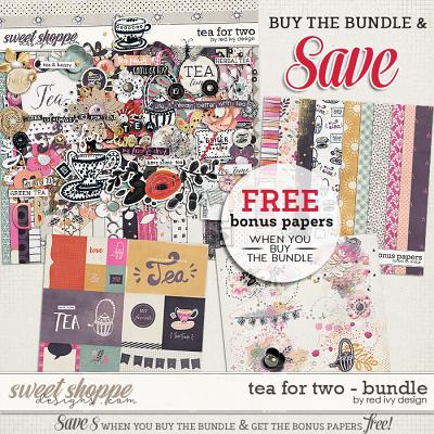 Tea For Two - Bundle by Red Ivy Design