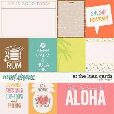 At The Luau Cards by LJS Designs
