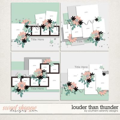 Louder Than Thunder Layered Templates by Southern Serenity Designs