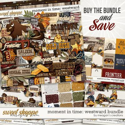 Moment in Time: Westward Collection Bundle by Meagan's Creations