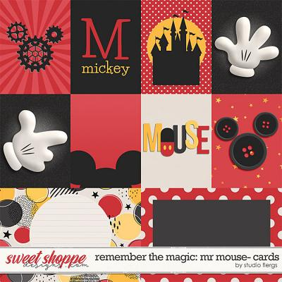 Remember the Magic: MR MOUSE- CARDS by Studio Flergs