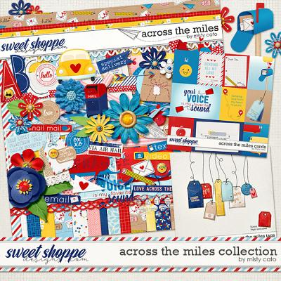 Across the Miles Collection by Misty Cato