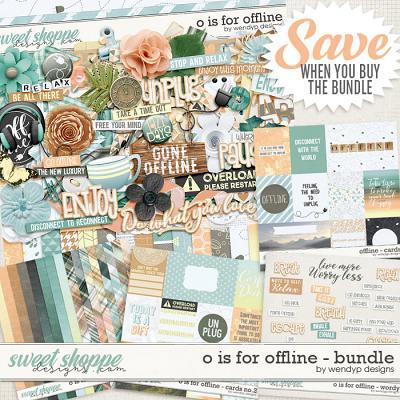 O is for Offline - Bundle by WendyP Designs