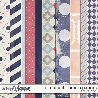 Stand Out - Bonus Papers by Red Ivy Design