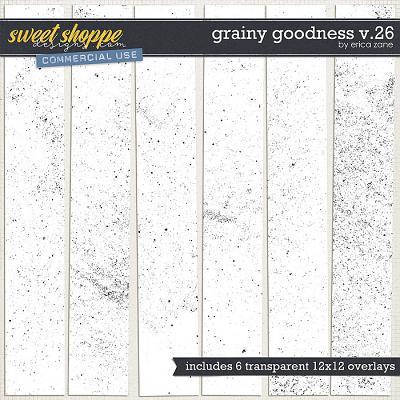 Grainy Goodness v.26 by Erica Zane