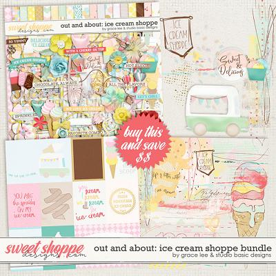 Out and About: Ice Cream Shoppe Bundle by Grace Lee and Studio Basic Design