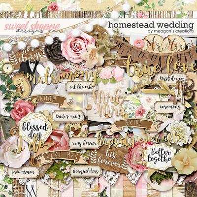 Homestead Wedding by Meagan's Creations