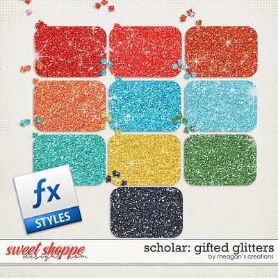 Scholar: Gifted Glitters by Meagan's Creations